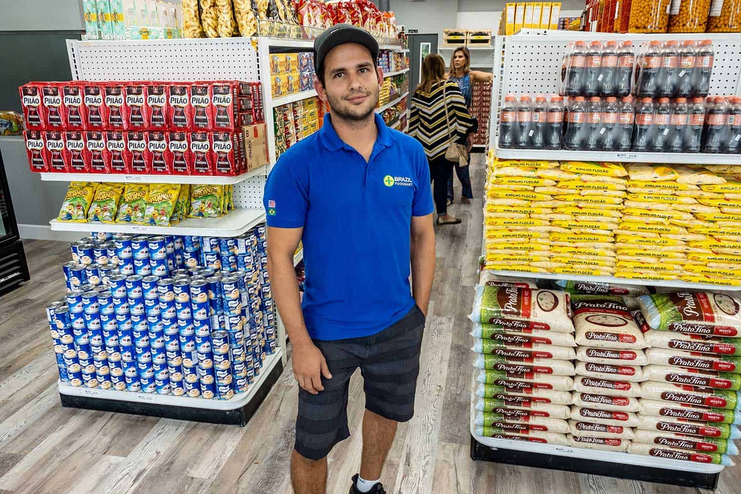 International business owner who uses AccuPOS Point of Sale for his store
