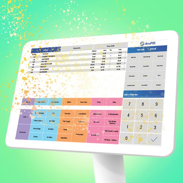 AccuPOS is the magical POS system for small business