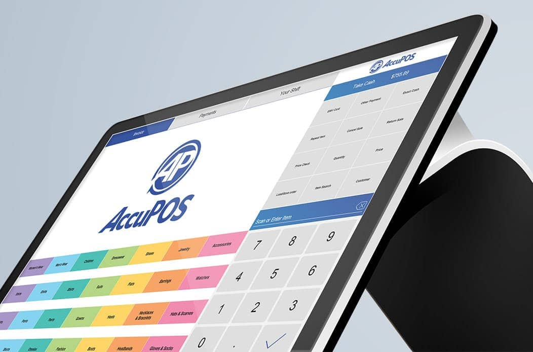 AccuPOS Point of Sale for dedicated Android POS all-in-one