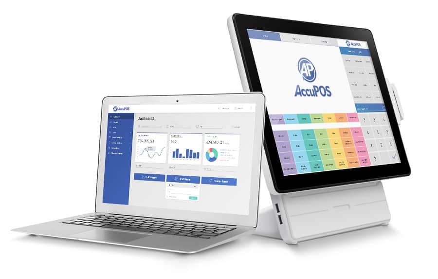AccuPOS Point of Sale connects seamlessly to your accounting software of choice