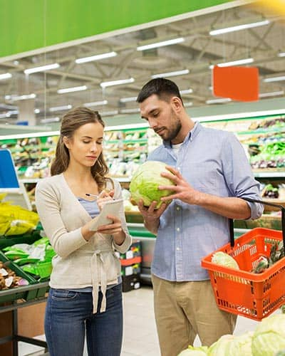 Grocery store POS software and systems