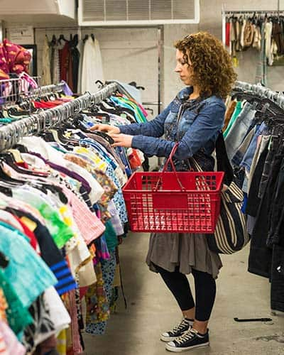 Point of sale for thrift stores