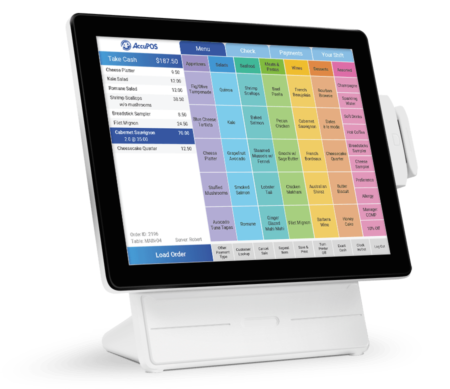 Restaurant POS system for food service business owners