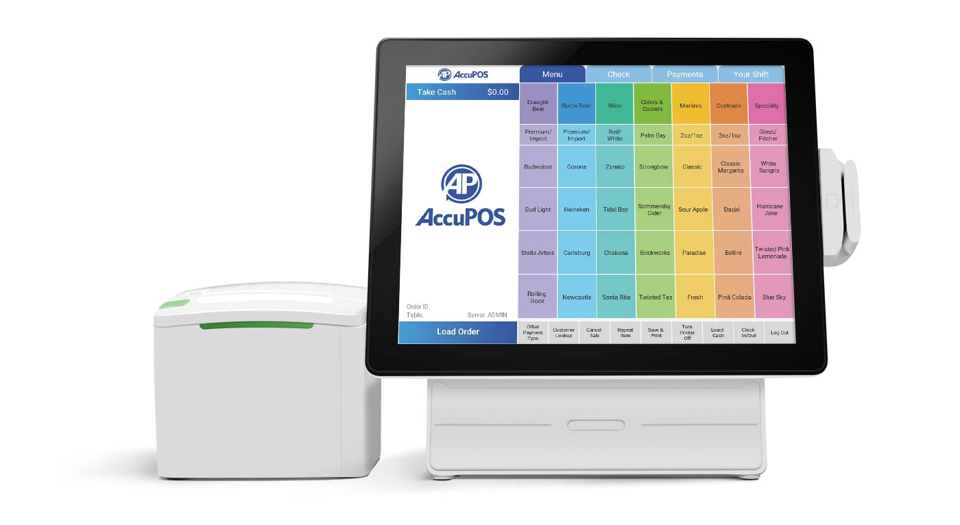 AccuPOS restaurant POS systems for foo industry businesses