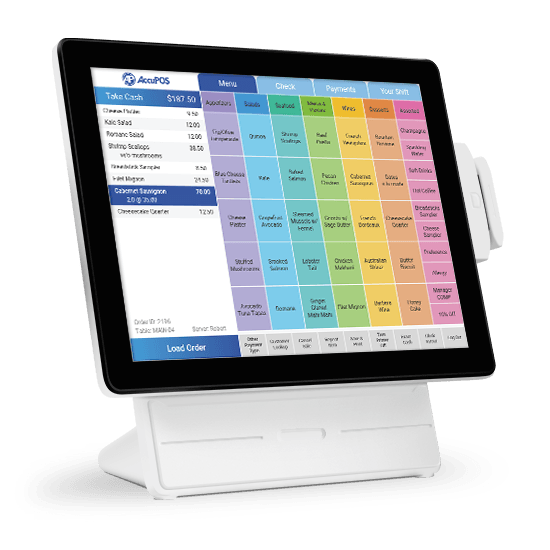 Windows POS hardware running AccuPOS  point of sale software