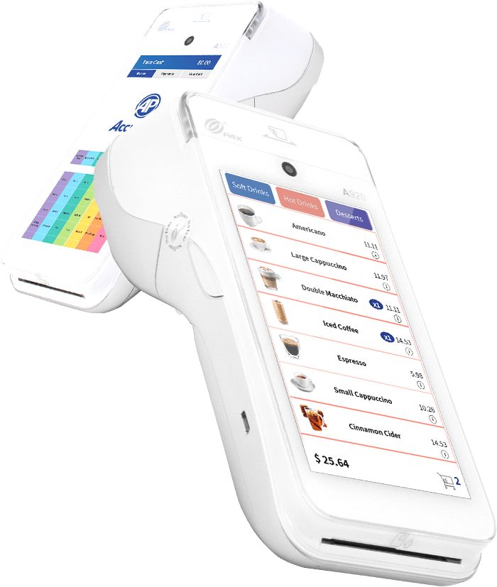 AccuPOS mobile point of sale devices